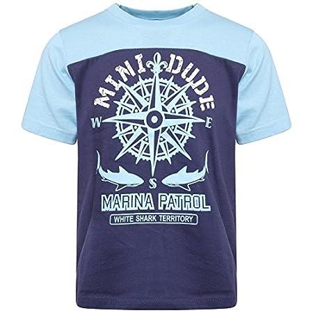 6d783efad Coton Mode Kids Boy s Children Sea Life Theme T Shirts Summer Collection 5  Colour 5 Sizes (4-5 years