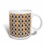 3dRose Danita Delimont - Charles Cecil - Tiles - Fez, Morocco. Bou Inania Madrasa tilework from 14th Century AD. - Mugs