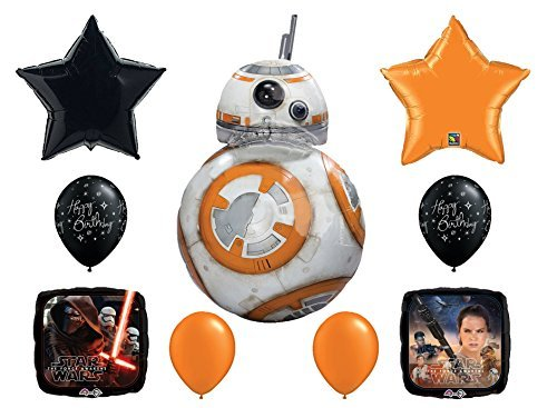 Star Wars Force Awakens Balloon Bouquet Deluxe