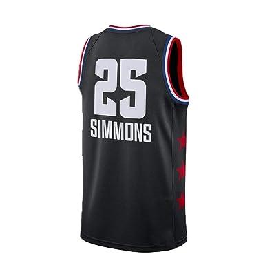 HuLei-Outdoor Camiseta de Baloncesto NBA Ben Simmons Deportes de ...