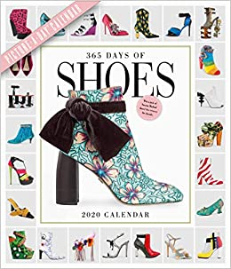 Shoe Calendar 2020 365 Days of Shoes Picture A Day Wall Calendar 2020: Workman