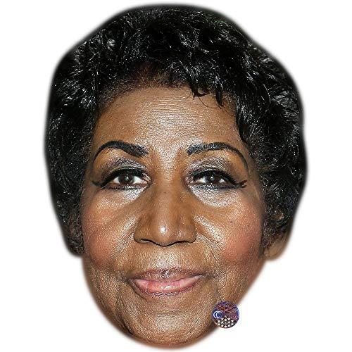 Franklin Mask - Aretha Franklin Celebrity Mask, Card Face and Fancy Dress Mask