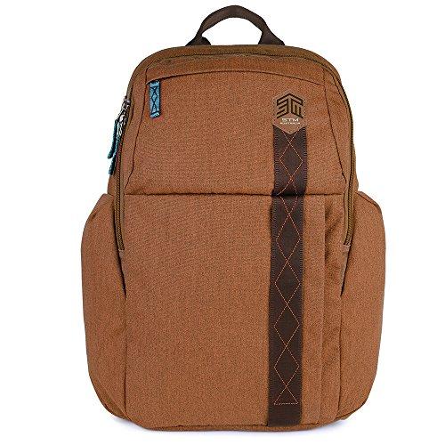 "STM Kings Backpack For Laptop & Tablet Up To 15"" - Desert Brown (stm-111-149P-10)"