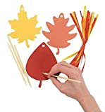 Colorful Paper Magic Color Scratch Leaves (24 pc)