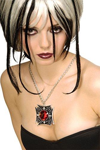 Rubie's Costume Wicked Kingdom Costume Gothic Medallion Necklace