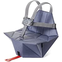 Bombol - Pop-Up Baby Booster Seat with Carry Bag & Seat Cover (Denim Blue)