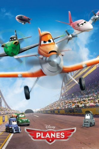 Planes - Disney / Pixar Movie Poster Teaser