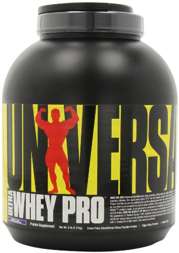 Universal Nutrition Ultra Whey Pro, Vanilla Ice Cream, 5-Pounds