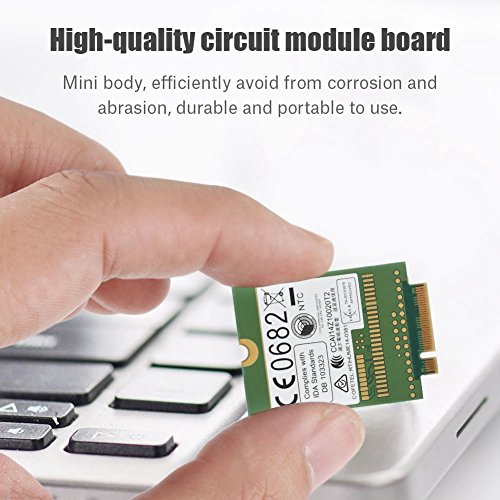 fosa Replacement Internal 100Mbps 4G LTE FDD M.2 Module Card NGFF Interface Windows/Android/ Chrome by fosa (Image #1)
