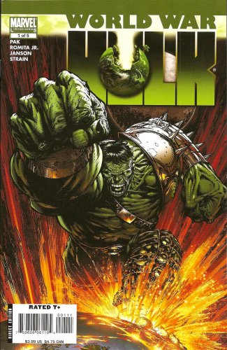 World War Hulk 1 of 5 The Incredible Hulk (Marvel Limited Series)
