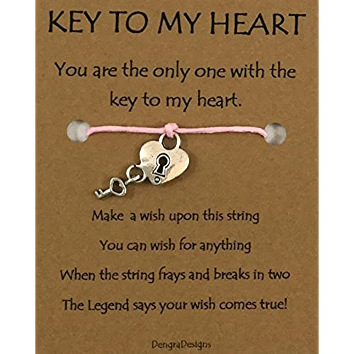 Charmed Greetings, Wish Bracelet, Key to My Heart, Thoughtful Card Sales