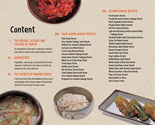 The Korean Kimchi Cookbook: 78 Fiery Recipes for Korea's Legendary Pickled and Fermented Vegetables
