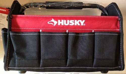 Amazon Com Husky 15 Inch Tool Tote By Husky Tools Home Improvement