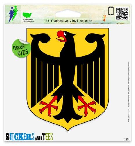 Germany German Coat Of Arms Vinyl Car Bumper Window Sticker 3