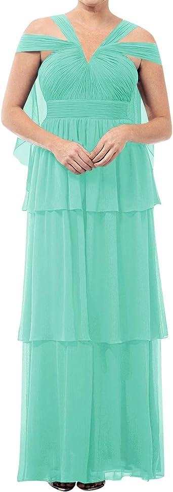 Amazon Com Vestidos De Madrina De Novia Con Cuello En V Vestido Largo De Madrina De Novio Tallas Grandes Vestidos De Noche Clothing