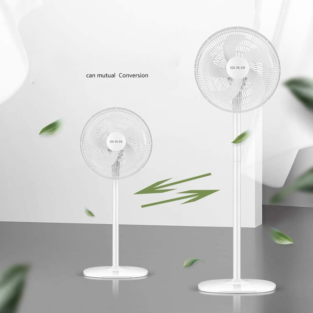 Air Cooler Ventilador de Pedestal oscilante, Ventilador de pie para Enfriar su área rápidamente - 3 velocidades, Ventilador de sobremesa y de Escritorio de 2 en 1 Altura Ajustable de 39 a 50 Pulgadas