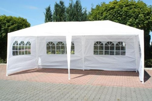 FoxHunter Waterproof 3m x 9m PE Gazebo Marquee Awning Party Tent ...