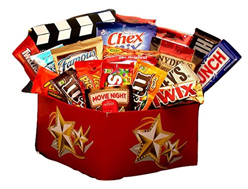 Fun Movie Rentals and Snack Gift Box for College Students