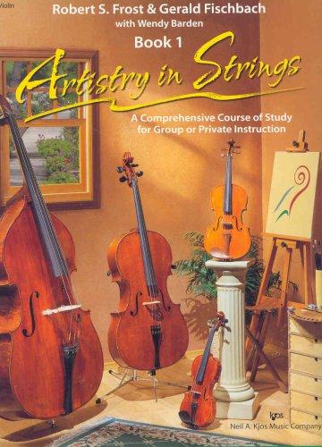 100VN - Artistry in Strings Violin Book - Book Violin String Builder