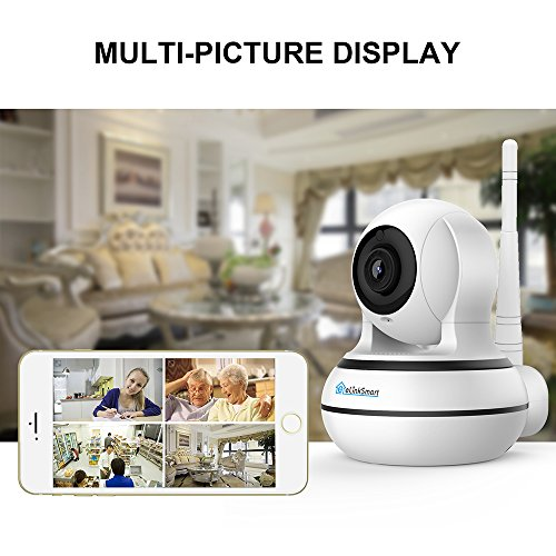 WiFi IP Camera Pan/Tilt/Zoom Wireless Home with 960P HD Vision Motion Detection Two Video