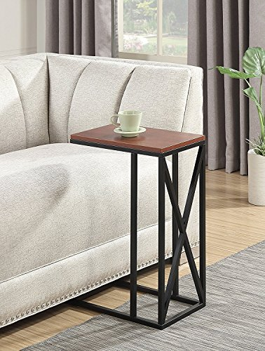 Indoor Multi-function Accent table Study Computer Desk Bedroom Living Room Modern Style End Table Sofa Side Table Coffee Table End The Table by DASII