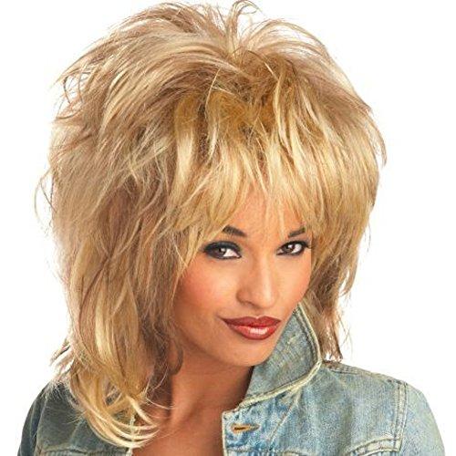 MyPartyShirt Rockin' Soul Blonde Wig]()