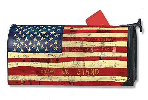 (Home of the Brave Large MailWraps Magnetic Mailbox Cover #21299)