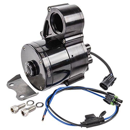 Meziere WP336S Black Hi-Flow Electric Water Pump with Inline Remote