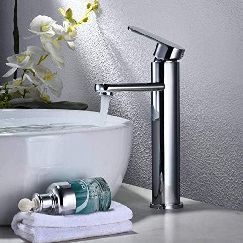 Zxyan 蛇口 立体水栓 水タップキッチン洗面器のミキサーの真鍮の滝の浴室の蛇口洗面蛇口洗面化粧台船流域ミキサータップバスルームのシンクの蛇口 トイレ/キッチン用
