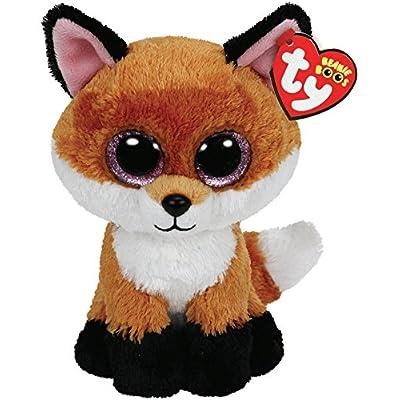 Ty Beanie Boos 6-Inch Slick Brown Fox Plush: Toys & Games