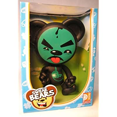 Swear Bears 6 inch vinyl Poisoned Bear: Toys & Games