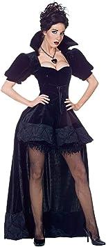 Horror-Shop Disfraz de Reina Negra Premium M: Amazon.es ...