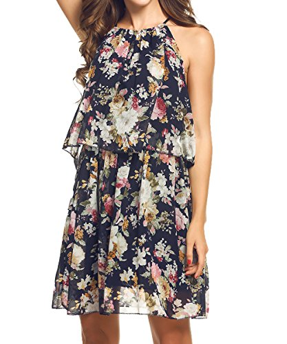 Acevog Dresses Chiffon Sleeveless Sundresses Advantages