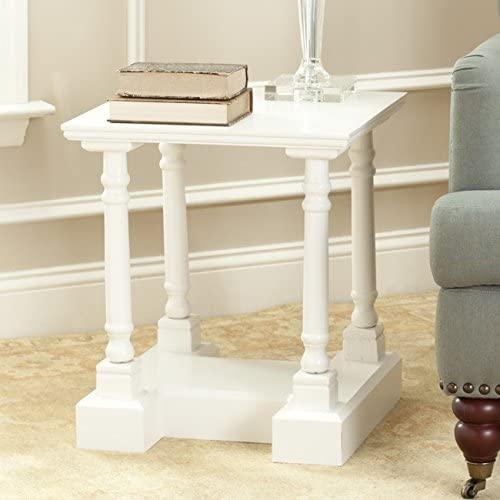 Safavieh American Homes Collection Endora Distressed Cream End Table