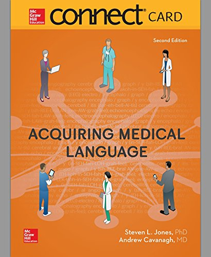 Connect Access Card for Acquiring Medical Language by McGraw-Hill Education