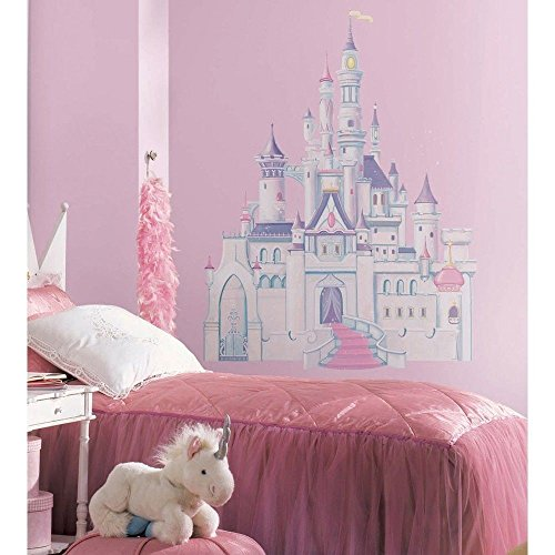 DISNEY PRINCESS CASTLE BiG Wall Mural Stickers Room Decor New Girl Vinyl Decal R (Stick Princess Disney)
