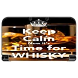 > > Decal Sticker < < Keep Calm Now it's Time For Whisky Quote Design Print Image New 3DS XL 2015 Vinyl Decal Sticker Skin by Trendy Accessories by Trendy Accessories