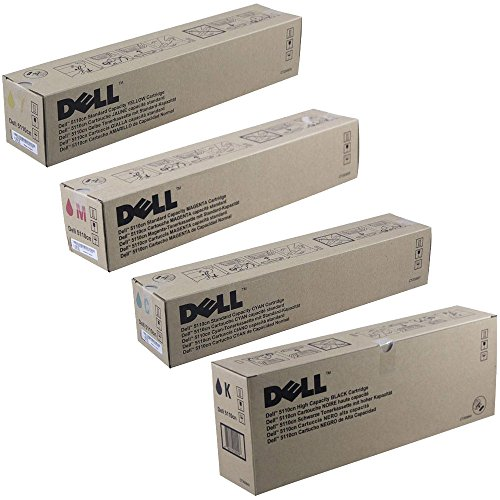 Dell 3100cn Standard Yield and High Yield Toner Cartridge ()