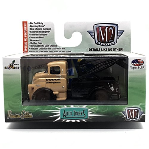 M2 Machines 1957 Dodge COE Tow Truck Auto-Trucks Series Release 36-2015 Castline Premium Edition 1:64 Scale Die-Cast Vehicle (R36 15-79)