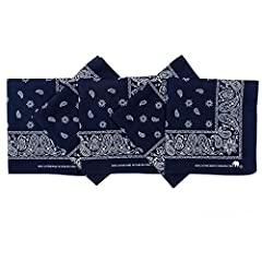 It has been over 100 years since Elephant Brand set and maintained the standard for quality handkerchief bandanas.  Elephant Brand has a long history of creating quality bandanas. Elephant surpasses the competition by placing high standards o...