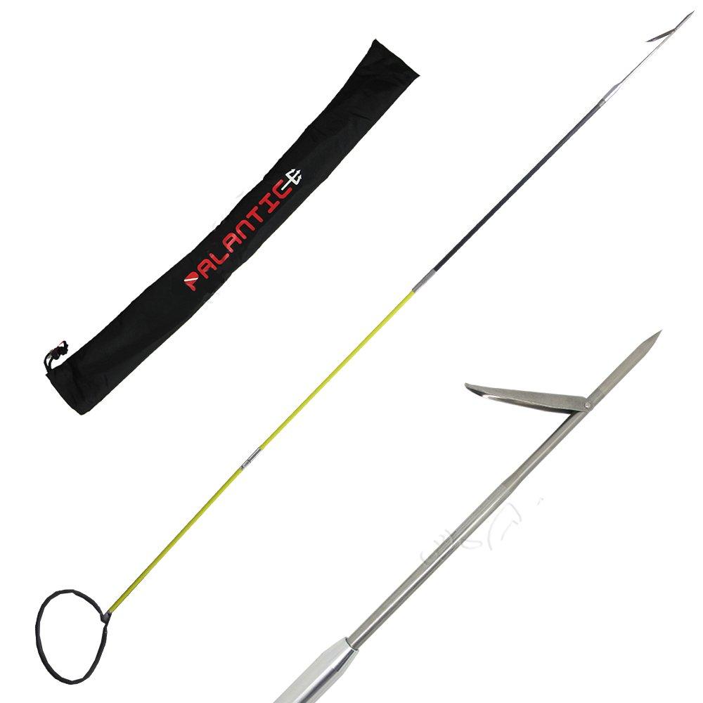 Scuba Choice Hybrid Hawaiian Sling Travel Spearfishing Pole Spear with Single Barb Tip (3-Piece), 7-Foot