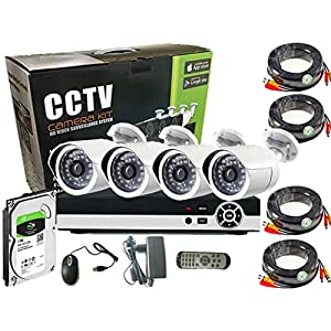 2.0 MP CCTV Security Recording System