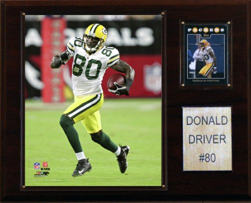 NFL Donald Driver Green Bay Packers Player Plaque