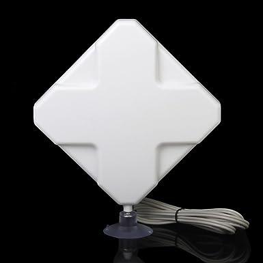 4G Antena 35dbi SMA Conector Booster Signal Señal Amplificador Para Modem PC