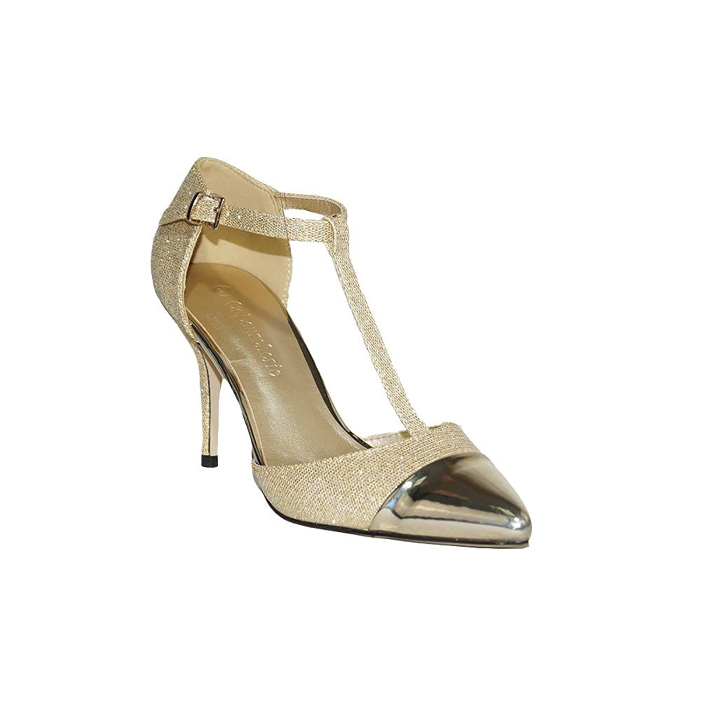 COLOURCHERIE Damen Stiefel & Stiefeletten Gold 2018 Letztes Modell  Mode Schuhe Billig Online-Verkauf