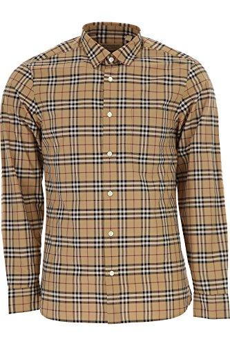Burberry Mens Alexander Camel Check Shirt Xl