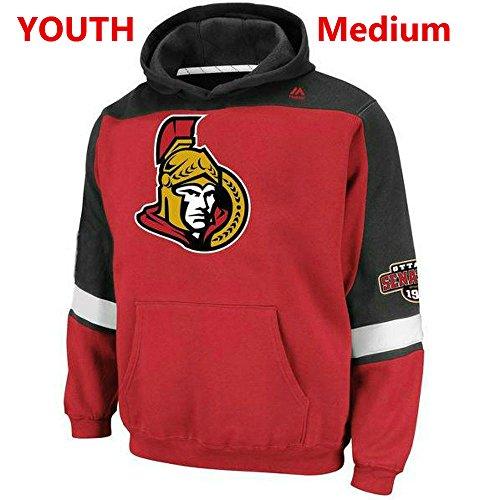 Majestic Ottawa Senators Youth Medium Hooded NHL Lil Ice Classic Sweatshirt