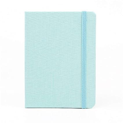 MINILZY Notebook 2019 - Agenda portátil A7 de Color Puro con ...
