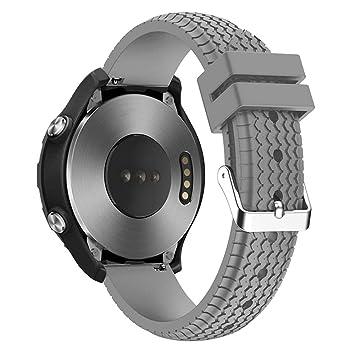 Correa de silicona para reloj deportivo de 22 mm, diseño de ...