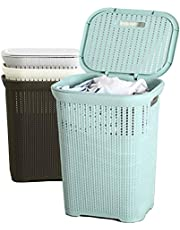 50L Multi-Purpose Laundry Basket with Cover
